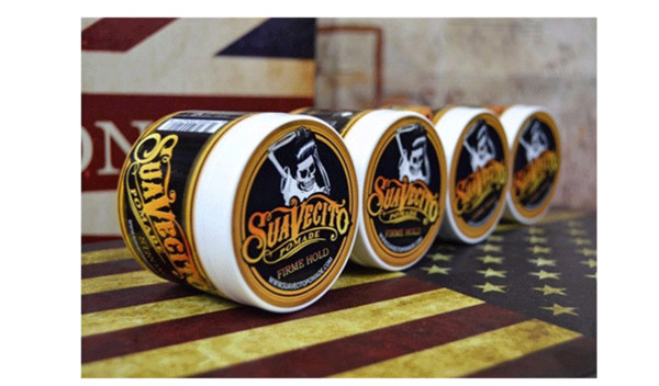 best selling Suavecito Pomade Hair Waxes Strong Style Restoring Pomade Hair Gel Style Tools Firme Hold Big Skeleton Slicked Back Hair Oil Wax Mud