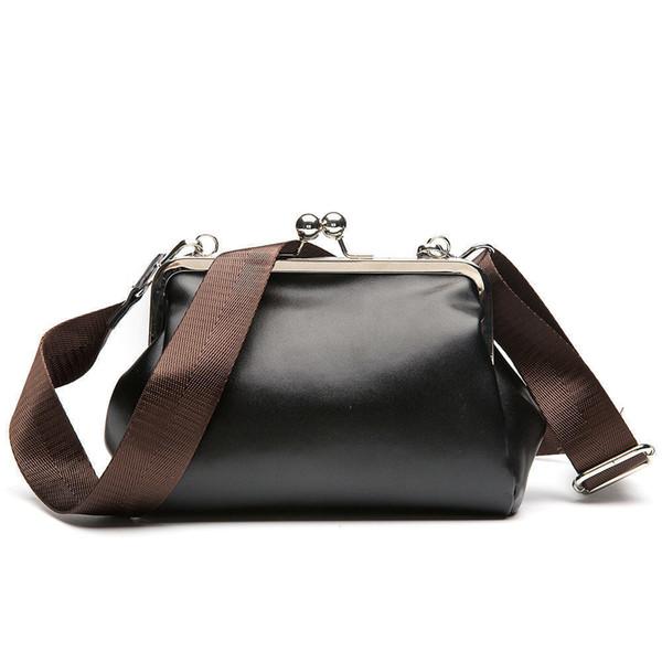 2019 Vintage Brand Women Messenger Bag Small Clutch Shoulder Bag Pu Leather Women Handbags Casual Crossbody Bag Retro Pouch New