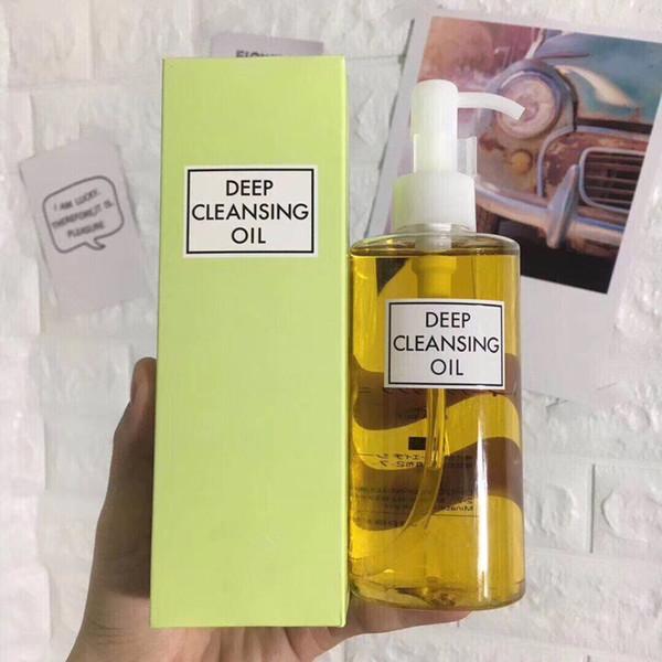 Yeni Varış zeytin Derin Temizlik yağı 200 ml makyaj temizleyici yağ gözler için yumuşak dudaklar yüz DHL ücretsiz gemi