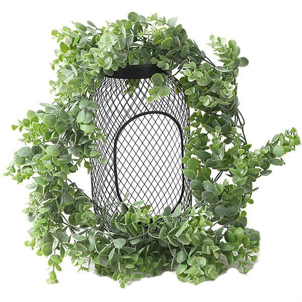 Door Vine Artificial Plants False Flowers Ivy Hanging Garland Leaves Wedding Party Home Bar Garden Wall Decoration