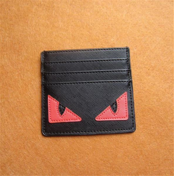 Carteira o cartão de crédito Monstros slot pouco Saco dos desenhos animados Passport Covers Titular Homens Mulheres Ultra Slim PU Bolsa Estudantes Coin Purse B61202