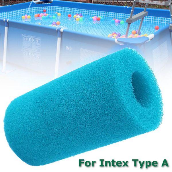 Schaumfilter Schwimmbadschwamm wiederverwendbar waschbar Biofoam Clean Water Pool Zubehör Schwammpatrone für Intex-Typ Reinigung