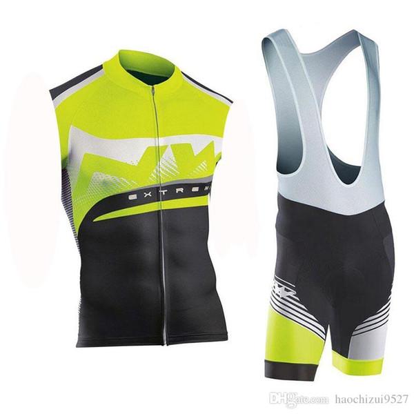 Новый 2019 NW Велоспорт команда одежда велосипед Джерси 9D гель колодки без рукавов набор мужская быстрый сухой Велоспорт Джерси Ropa Ciclismo