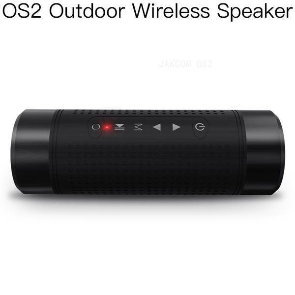 JAKCOM OS2 Outdoor Wireless Speaker venda quente no rádio como 3x player de vídeo estéreo pessoal fonte 400w