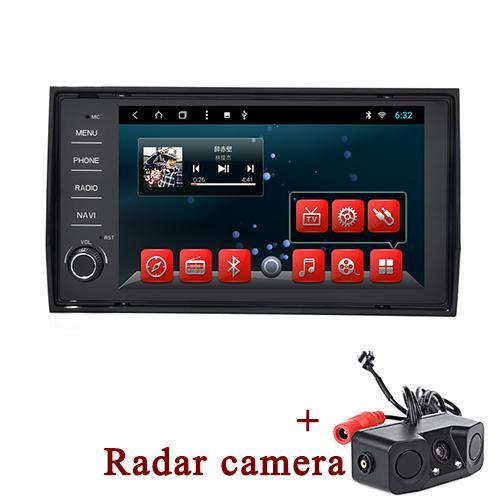 avec caméra radar