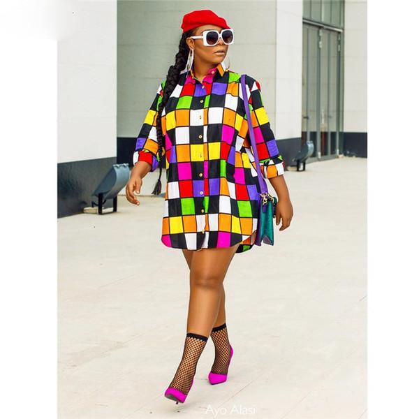 Diseñador de las mujeres de los vestidos vestido de las mujeres calientes de la manera Diseño superior ocasional Camiseta de las mujeres vestido de cuello de la manga una línea Mini Vestido J6017