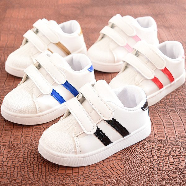 bfaf850654e Spring Kids Casual Shoes Sneakers Boys Girls Sport Shoes Toddler Little  Kids Big Kids Boys Cute Sneakers Stripe Shoes Youth Sneakers Cheap Shoes  For ...