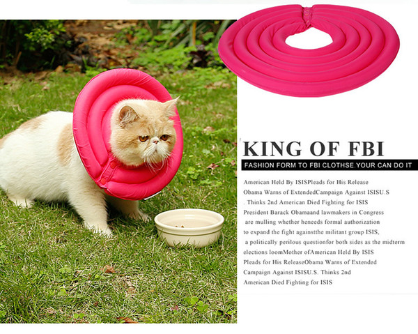 ROSE | Dog Recovery Collar - Soft Comfy Cone E-Collar After Surgery, Anti-Bite/Lick - for Cats Too, Quicker Healing