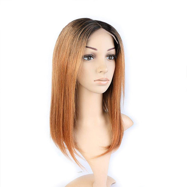 Honey blonder,remy virgin hair, Lace Front , full lace Wigs for Women Chinese hair, M012 straight ,for dating,for wedding