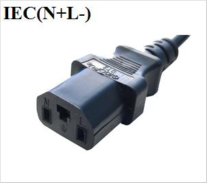 plugue IEC (N + L)