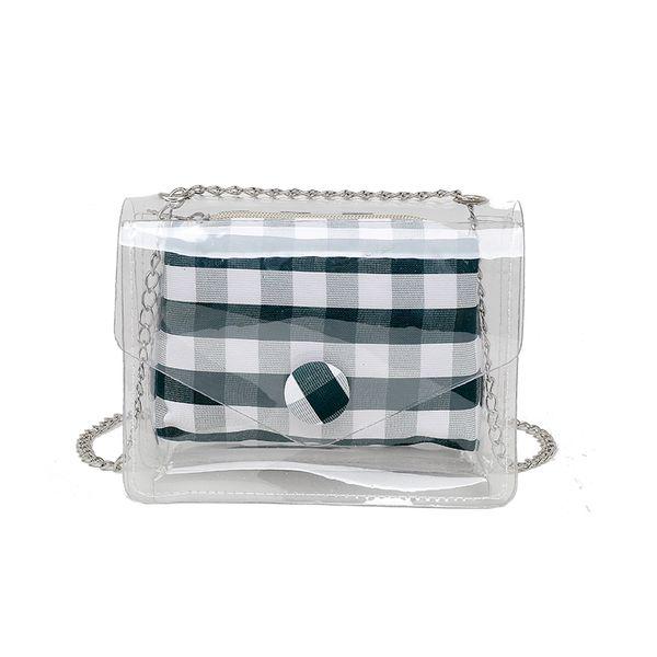 bags for women woman bag Clear Jelly Shoulder Bags Ladies crossbody Handbags 2019 Casual wild handbag