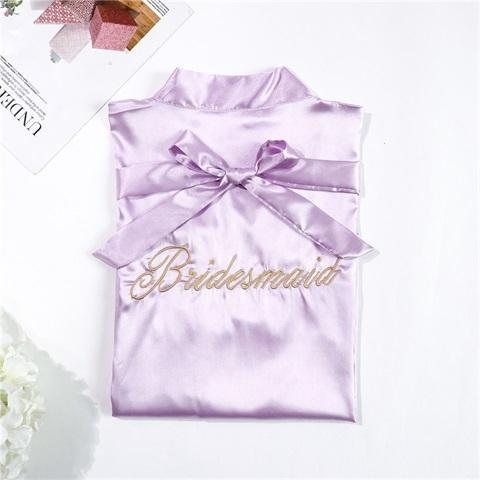 light purple Bride