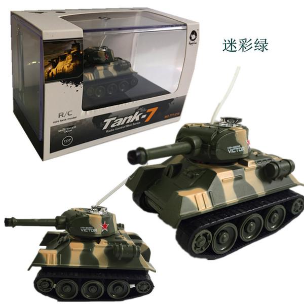 Mini Tiger RC Panzermodell Imitieren Remote Radio Control Panzer Funkgesteuertes elektronisches Spielzeug Panzer für Kinder Kinder