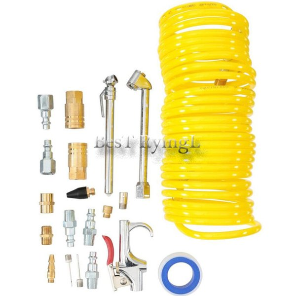 1 Set Of 20 Piece Iron Blowing Dust Accessory Kit For Compressor Air Tool Contain Chemical