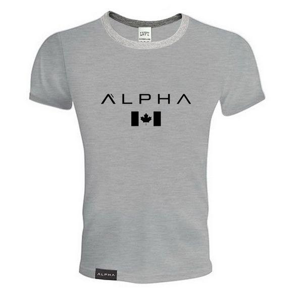 gym Nouveaux vêtements en Europe et en Amérique T-shirt couleur pure pour hommes Temps de loisirs Confortable Fitness et confort Impression de lettres Hot Selling
