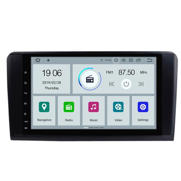 COIKA Android 9.0 System Car DVD Head Unit For Mercedes-benz ML W164(M300/ML350/ML450/ML500) GPS Navi WIFI OBD 2+16G Ouad Core DVR