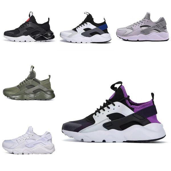 Nike air huarache 2018 Yeni Huarache Ultra Koşu Ayakkabı 4 Erkekler Ve Kadınlar Atletik Huaraches Sneakers Meme Kanseri Huraches Spor Eğitmenler Ayakkabı
