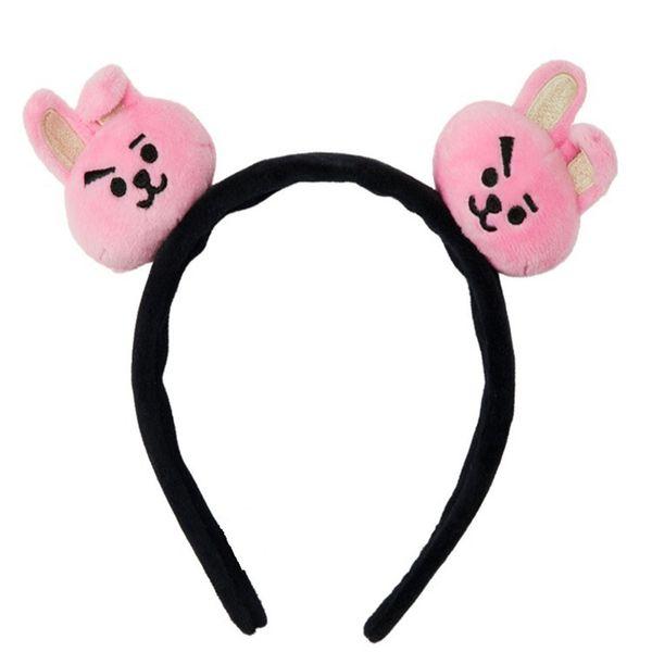 Lovely Kpop BTS BT21 Hair Band Women Girls Christmas Party Cartoon Headbands Bangtan Boys CHIMMY Hair Accessories