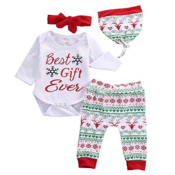 2019 Infant Newborn Baby Boy Girl Shirt /& Pants Trousers /& Hat Outfit Clothes