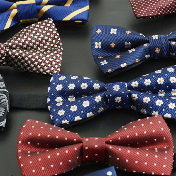 Bowtie men formal necktie wedding butterfly male marriage bow ties for men business Dress Shirt gift