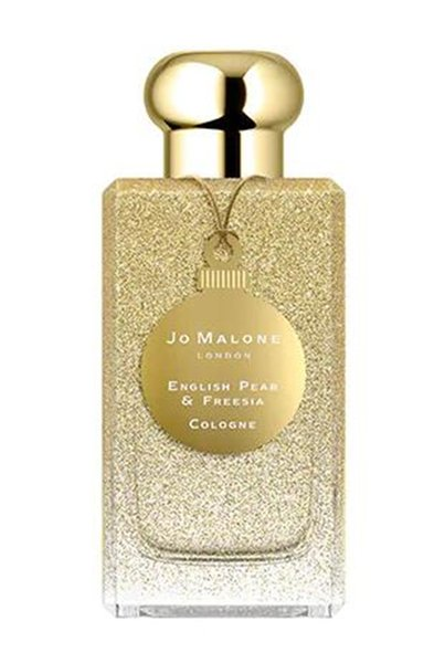 Chri tma golden ver ion jo malone engli h pear free ia cologne lovely mell long la ting time pray