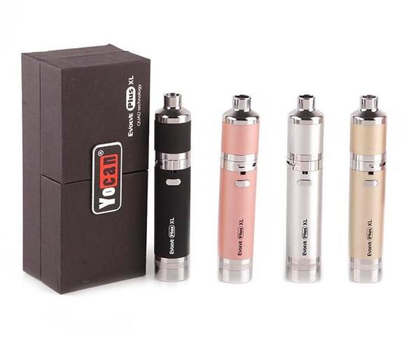 Yocan Evolve-D Evolve Plus XL Ruche 2.0 Magneto Pandon chargé Kit de démarrage Cire Pen Herb Dry 650 1100mAh batterie Vaporizer