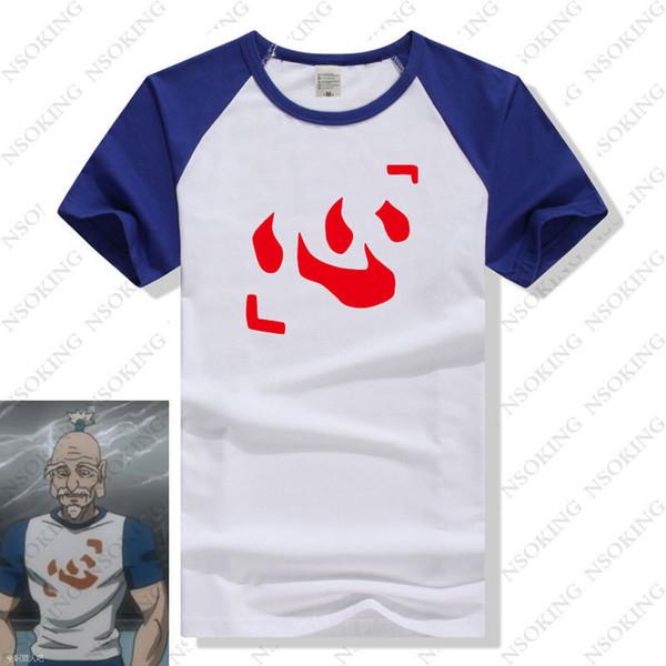 Hunter X Hunter T -shirt Japan New Anime Hunter Isaac Netero Cosplay T -shirt Y19060601