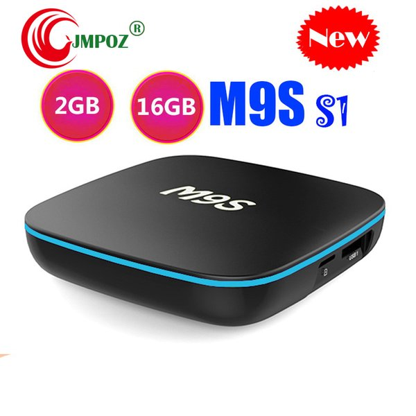 Original M9S S1 Cheapest Android 7.1 Tv Box Quad Core 1GB 8GB 2GB 16GB Android 7.1 Smart Tv Box Support 2.4G Wifi 4K Steaming Media Players