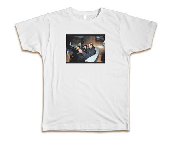 Ice Cube Ak-47 Custom Mens T-Shirt Tee S-3XL New-White size discout hot new tshirt