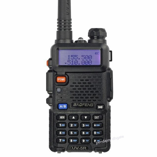 best selling Wholesale Original Baofeng UV5R 128CH 5W VHF UHF Dual Band Walkie Talkie UV-5R Two Way Radio Radio Frequency Machine