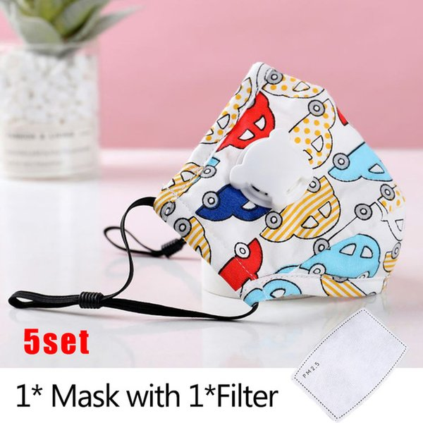 Maske x-filter 5er Ein