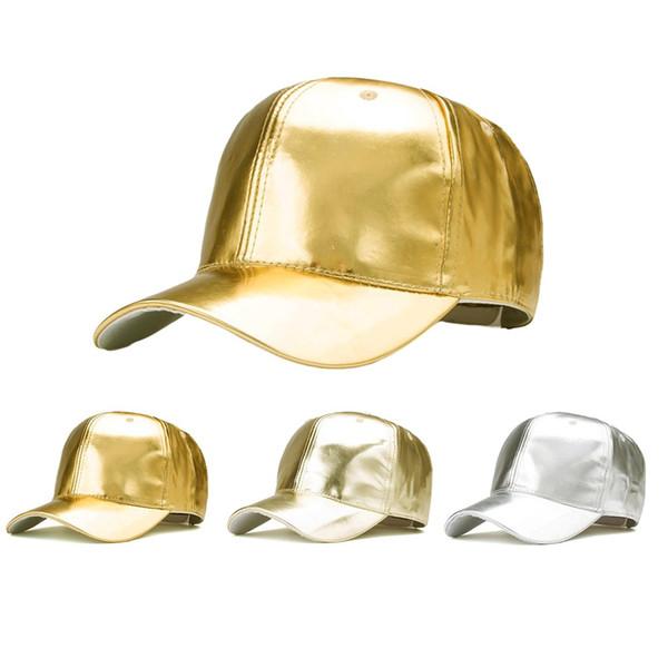 YOUYEDIAN Summer Soild PU Leather Casual Shade Vintage Baseball Cap Unisex Adjustable Sport Classic Sports Blank Hip Hop Hat