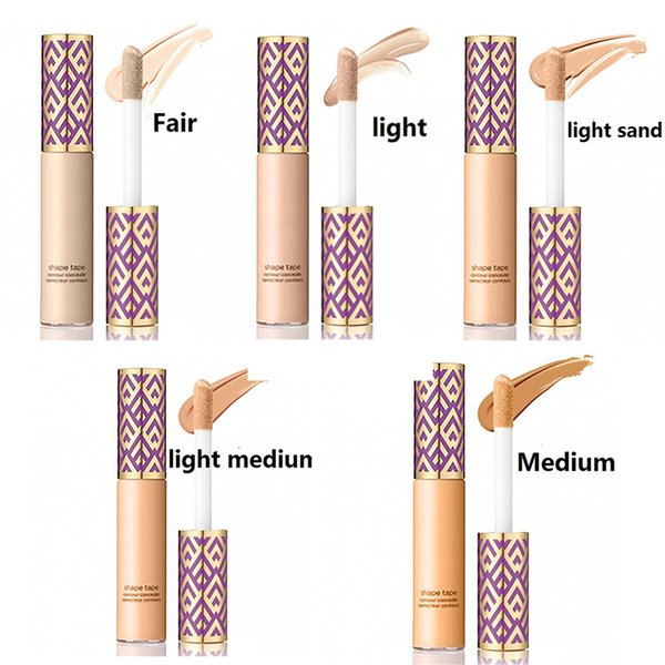 5 colores Forma Cinta base líquida Contorno Corrector Stick Cara Fundación líquida Maquillaje facial Ojo oscuro Ocultar cuidado de la cara de la mancha