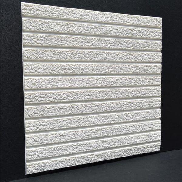 3D PE Foam Flexible Stone Brick Pattern Wall Sticker Home Decor TV Sofa Wall Art Mural Kids Safty Poster DIY Embossed Wallpaper