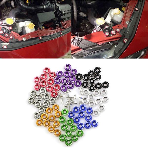 JDM automobile che ripara la M6 Viti Pad accumulatore Protezione Pad Dadi Bulloni parafango targa Viti decorative