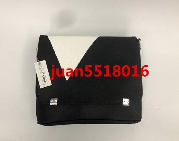 Top qualidade designer de moda bolsas de couro messenger maleta venda quente clássico marca corpo cruz saco vêm com saco de poeira serial