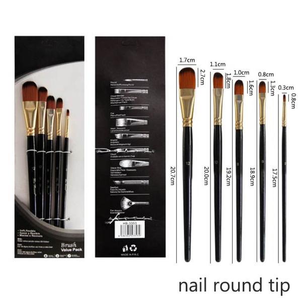 nail round tip