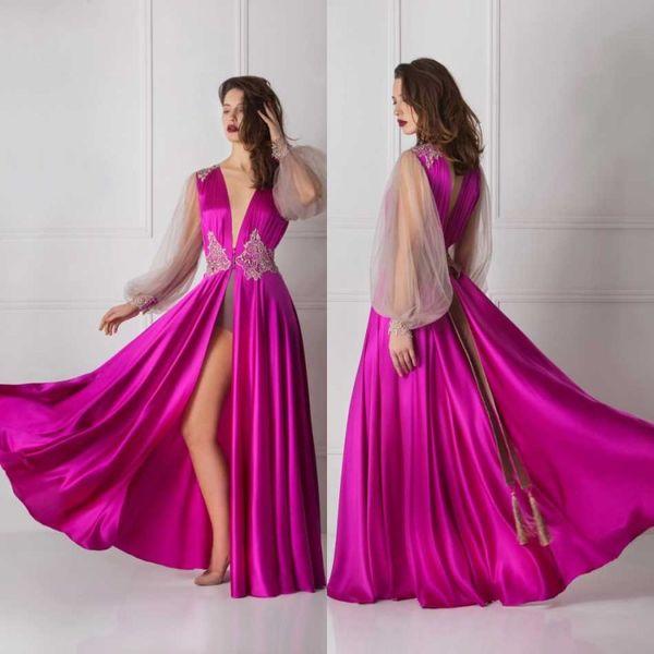 Silk Bridal Bathrobe Lace Full Length Lingerie Nightgown Pajamas Sleepwear Womens Luxury Dressing Gowns Housecoat Nightwear Lounge Wear
