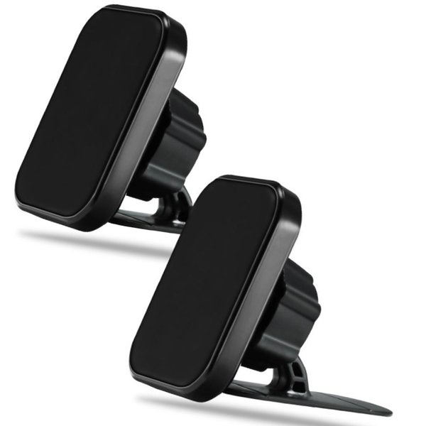 2019 360 Degree Rotated Magnetic Car Mount Cellphone Car Holder Air Vent Bracket Holders for iPhone Samsung Universal Phones GPS Dash