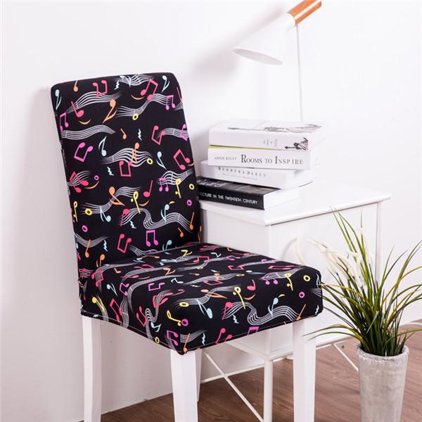 Modern Spandex Elastic Chair Covers With Backrest Kitchen Dining Chair Cover Slipcover Protector Living Room Stretch Seat