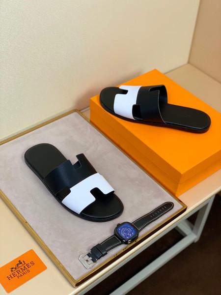Os mais recentes chinelos masculinos, designer de versão atualizada da sola, mais leve, perfeito para a mais alta qualidade, modelos de explosão selvagem