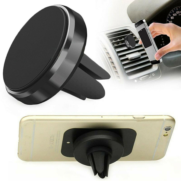 Universal Car Magnetic Air Vent Mount Holder Stand Mobile Phone Strong Magnet for iPhone 7 8 Plus X