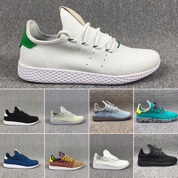 Adidas tennis hu 36-45 Race Trail Running Schuhe Herren Damen Pharrell Williams HU Runner Gelb Schwarz Weiß Rot Grün Grau Blau Sport Runner Sneaker