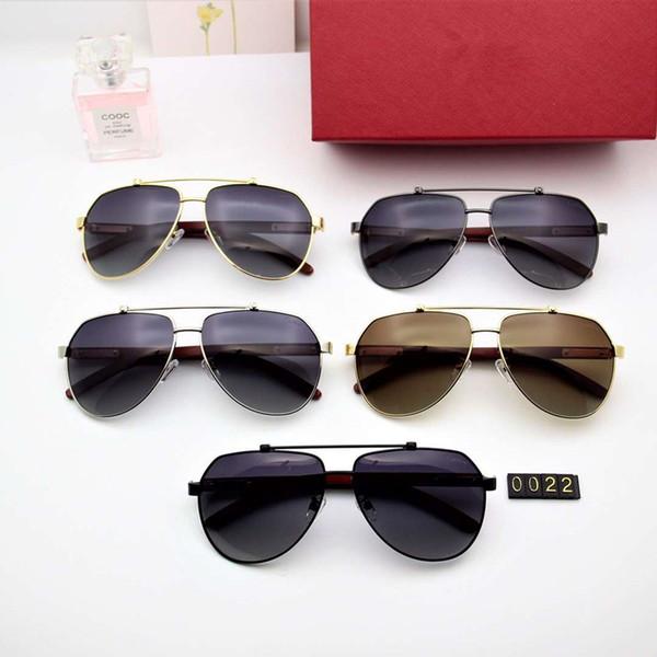 Поляризованные металлические мужские солнцезащитные очки очень высокого класса атмосфера, поляроидные линзы hd поляризованные деревянные ноги лазерной резкой модель: 0022 цвет: 5