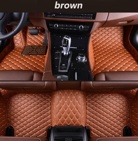 Cadillac SRX 5 sièges luxe 2010-2016 tapis de sol de luxe entouré de tapis de voiture en cuir imperméable épaississement résistant à l'usure