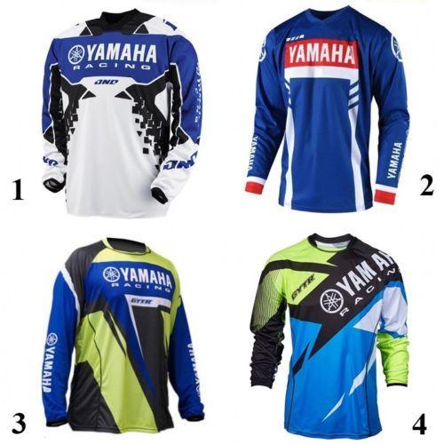 New forYamaha Jersey MX Motocross Jersey Ausrüstung Sport Off Road, Dirt Bike, Motocross Schweißtrikot