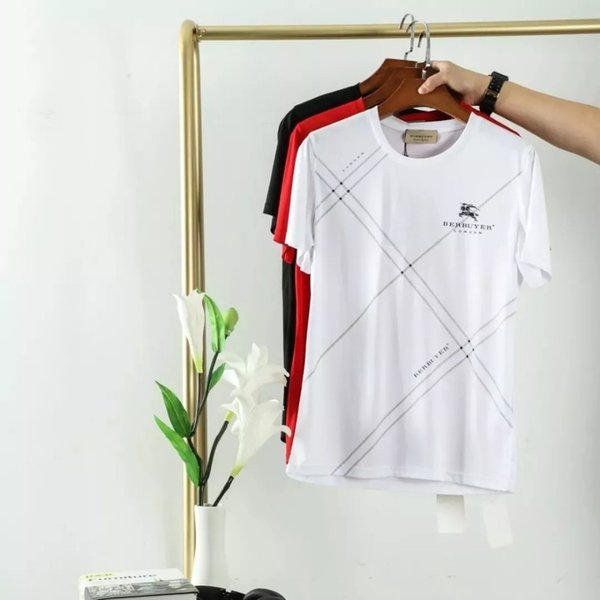 T-shirt de algodão de alta qualidade dos homens lyocell poliéster tecido de fibra de mistura