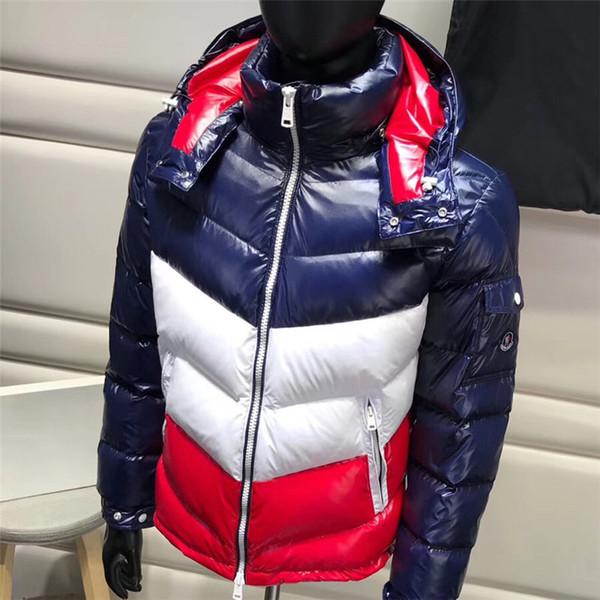 Новые Мужские Дизайнерские Куртки Зимние Теплые Пальто Ветровка Бренд Пальто Молния Роскошные На Открытом Воздухе Спортивные Куртки Плюс Размер Мужская Одежда M-3XL B10031K