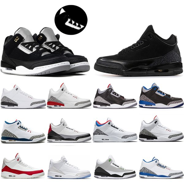 new classic jumpman black cement tinker unc 3s basketball shoes nrg mocha katrina knicks rivals 3m reflective mens trainers sneakers us 7-13