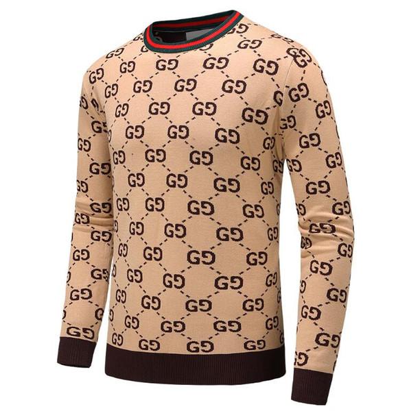 Felpa con cappuccio da uomo in maglia di lana nera a righe da uomo Felpa con cappuccio da uomo in maglia di cotone da uomo sportiva Design pullover